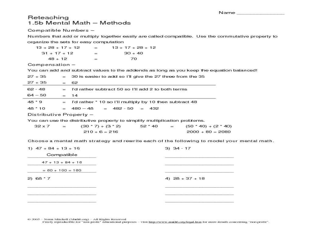 Properties Of Math Worksheets 5th Grade charming properties of – Properties in Math Worksheets