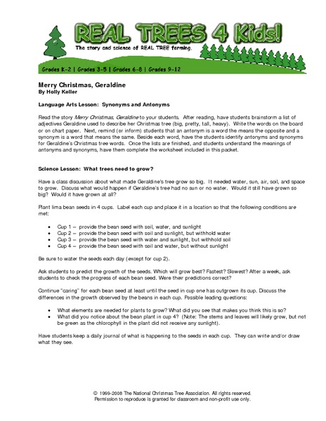 All Worksheets  Christmas Language Arts Worksheets  Free