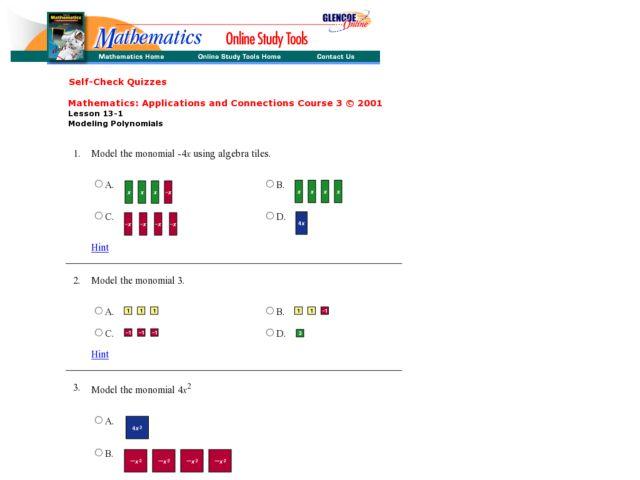 Algebra Tiles Worksheet - Worksheets