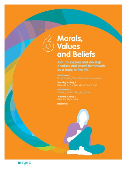 beliefs morals and values Personal values, belief and attitudes as human beings, we all have our own values, beliefs and attitudes that we have developed throughout the course of our lives.