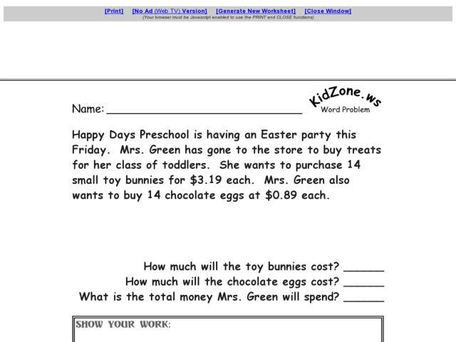 Multi Step Word Problems Worksheets Moniezja – Multiple Step Word Problems Worksheets