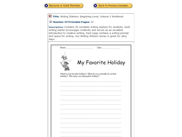 Number Names Worksheets » Holiday Worksheet - Free Printable ...