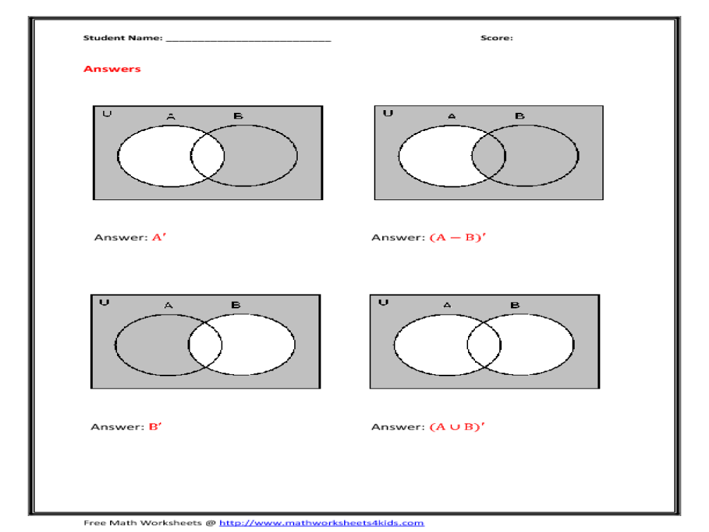 Name the shaded region worksheet for 6th 8th grade lesson planet pooptronica