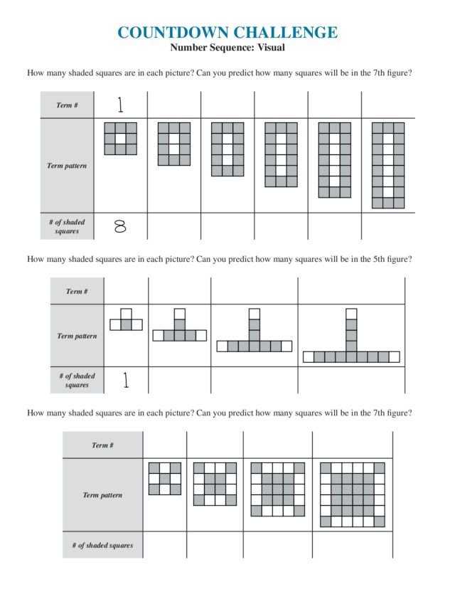 sequence worksheets 7th grade math arithmetic and geometric sequences worksheet 7th grade. Black Bedroom Furniture Sets. Home Design Ideas