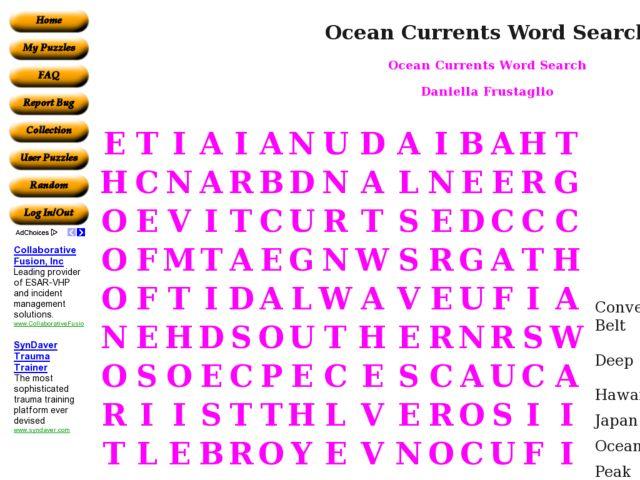 Ocean Currents Worksheet 6th Grade