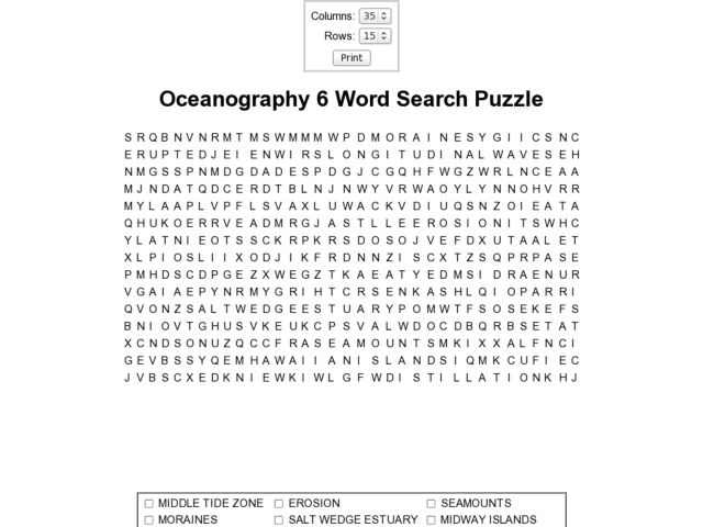 Pictures Oceanography Worksheets - Studioxcess