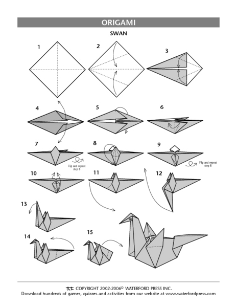 History Of Origami Worksheet