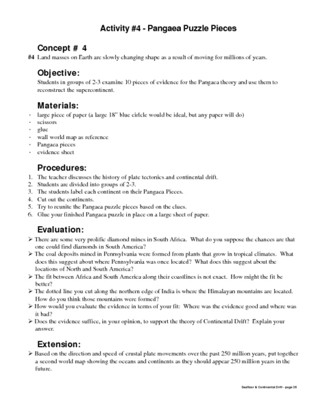 Printables Pangaea Worksheet pangaea worksheet bloggakuten