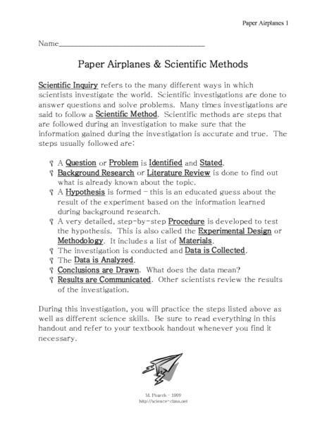 Essay on scientific method