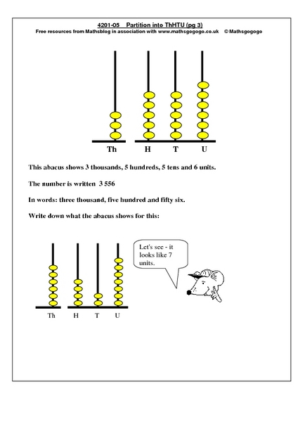 place values to ten thousands worksheets pdf