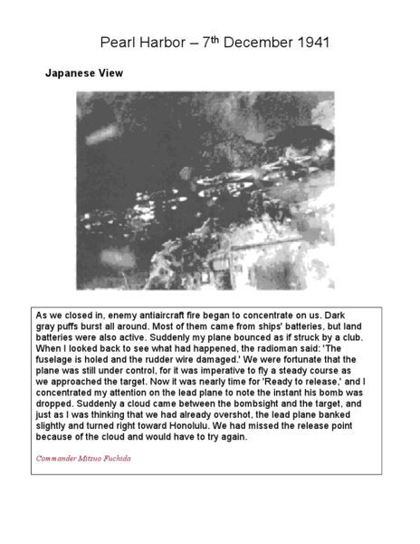Worksheets Pearl Harbor Worksheet pearl harbor japanese view u s 4th 6th grade worksheet lesson planet