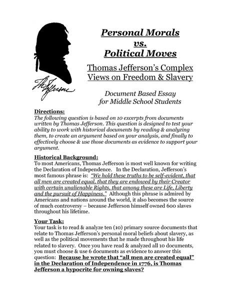 Morals vs. Politics?