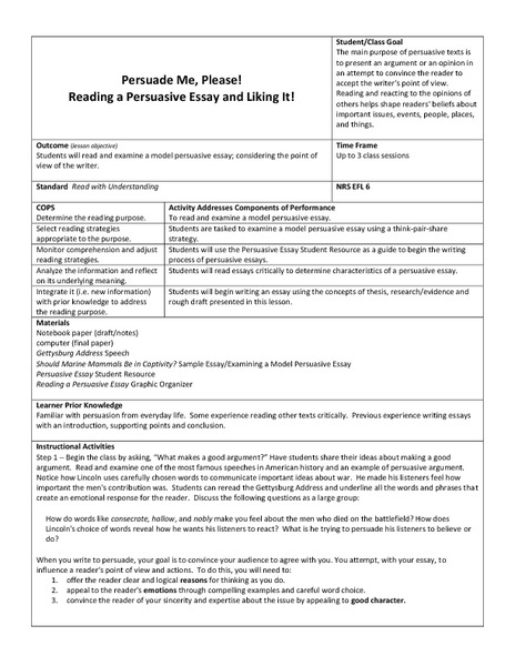 essay writing lesson plans 8th grade By grade level → lesson plans - 8th grade lesson plans - 8th grade page 1 of 103 1 2 essay outline writing kickstarter – thesis statements, topics.