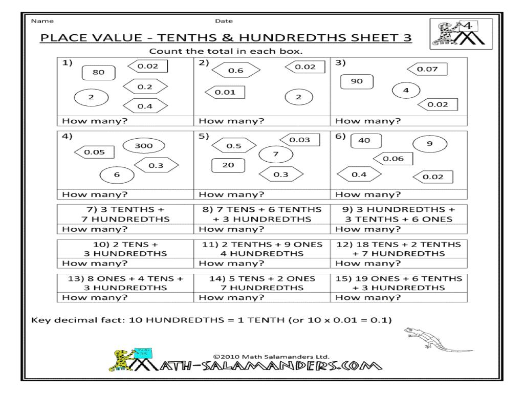 Math Worksheets Addition