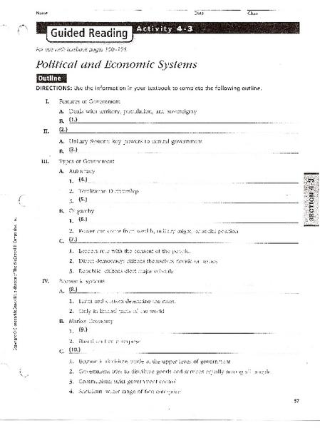 All Worksheets » Economic Worksheets - Printable Worksheets Guide ...