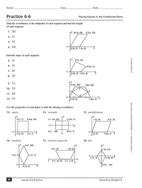 Coordinate plane practice worksheet pdf
