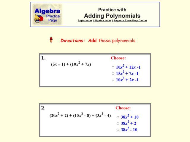 free math worksheets polynomials factoring polynomial worksheetspractice 6 4 solving equations. Black Bedroom Furniture Sets. Home Design Ideas