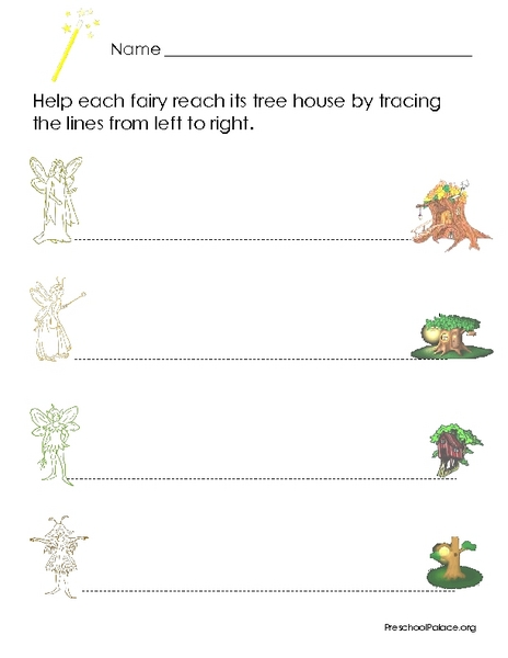 Free tracing worksheets for 3 year olds