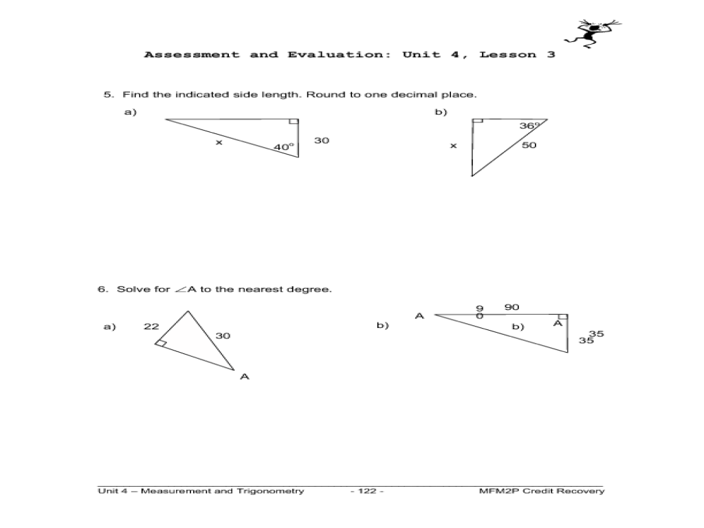 Printables Trig Ratios Worksheet primary trig ratios 9th 12th grade worksheet lesson planet