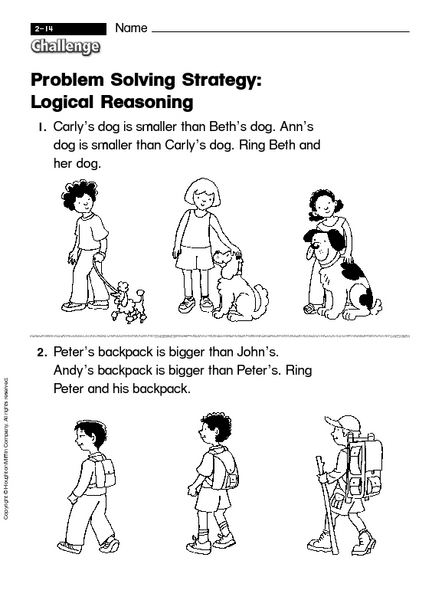 Worksheets Logical Reasoning Worksheets For Grade 1 logical reasoning worksheets mysticfudge for 2nd grade problem solving use