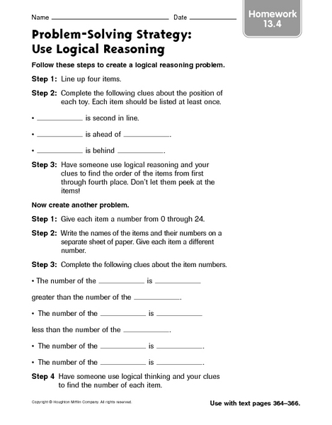 critical thinking word problems for 3rd grade Solving word problems learning skills: defining the problem, defining knowns and validating why 3 answer the critical thinking questions 4.