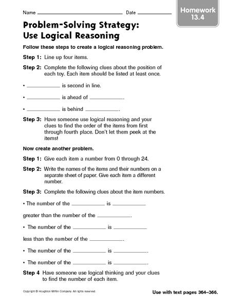 Worksheet : 5th Grade Math Logical Reasoning Worksheets Worksheets ...
