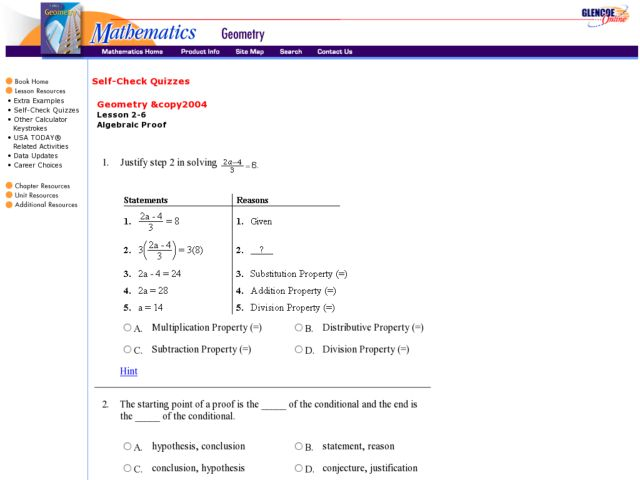 Gallery images and information: Two Column Proofs Worksheets