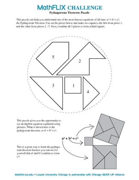 ... Puzzle Worksheet Pythagorean-theorem-puzzle-worksheet.jpg?1364641393