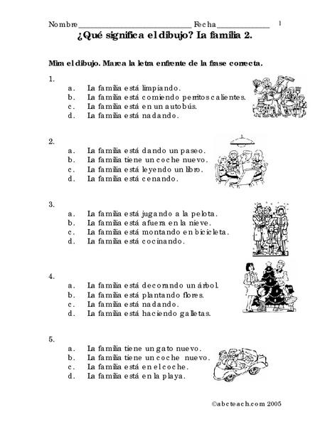 The LanguagePoint - Resources - La Familia - Los Simpson ...