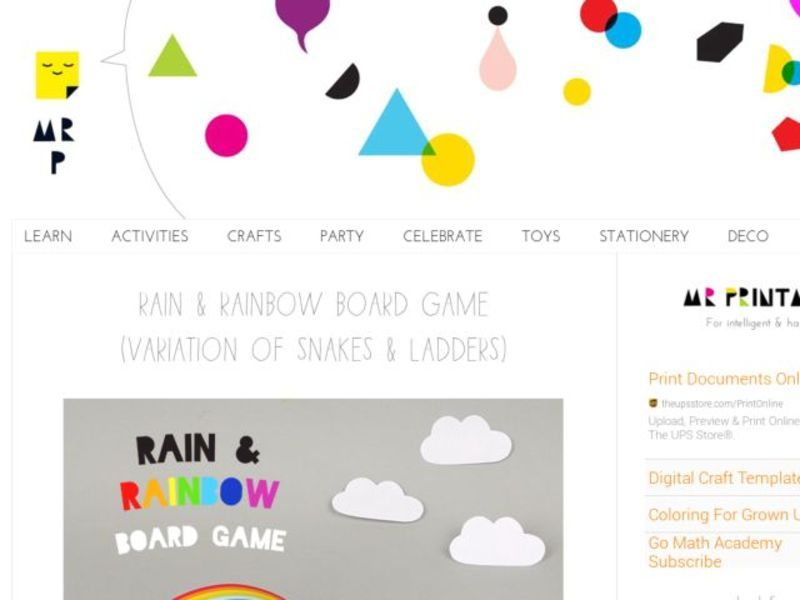 Rainbow Board Game images