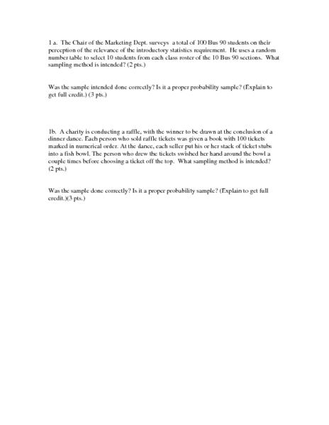 Sampling Worksheet - Karibunicollies