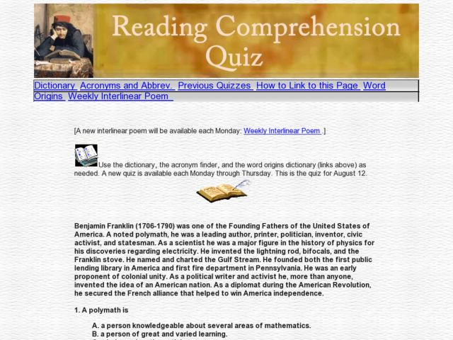 Top 20 Reading Comprehension Passages with Q&A