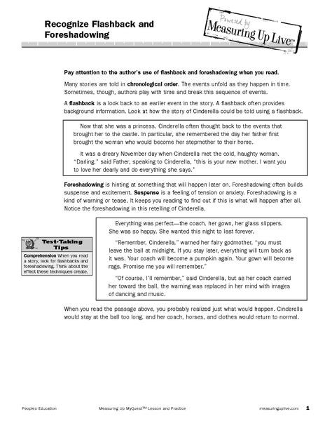 flashback worksheet - Termolak