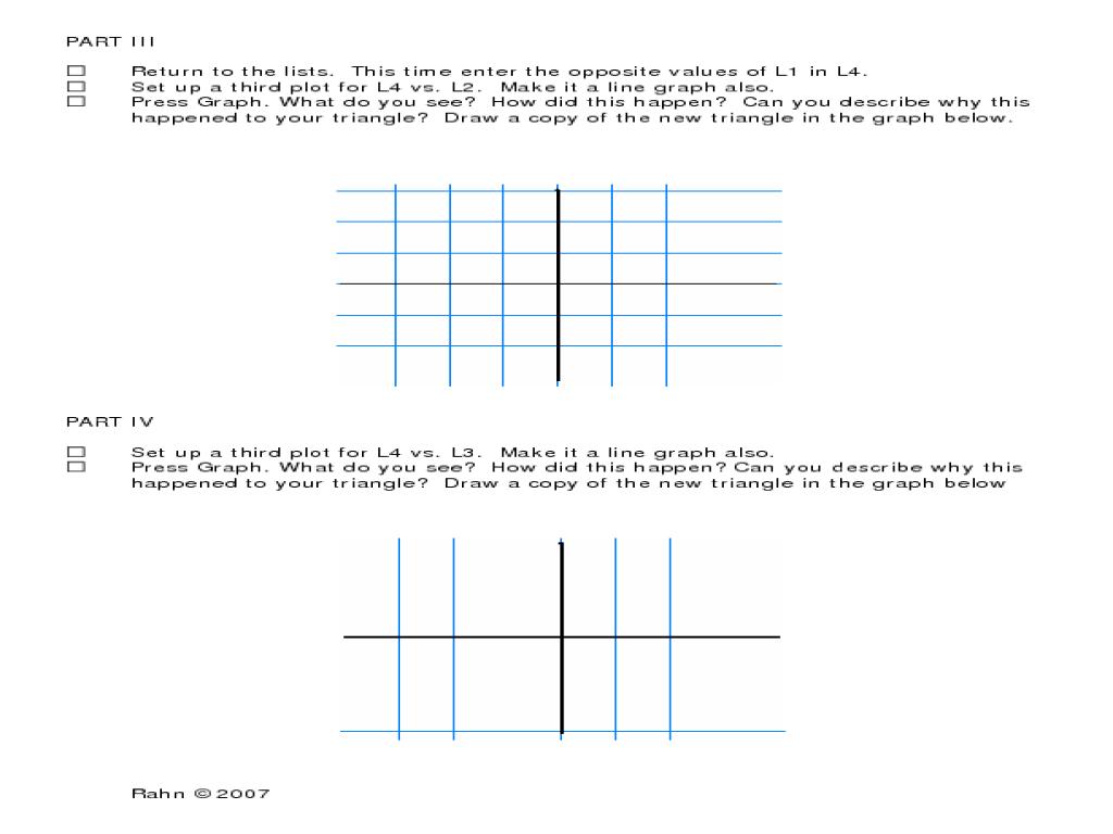 Graphing Calculator Worksheet - Gamersn