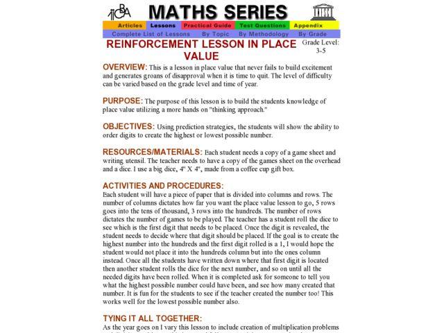 Multiplication Worksheets Place Value Multiplication Worksheets – Place Value Multiplication Worksheets