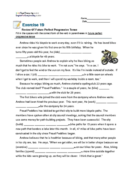 Future Perfect Tense Worksheet Spanish - The Best and Most ...