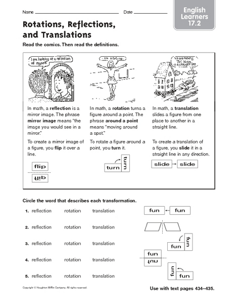translation worksheets 8th grade math translation worksheetsrotation worksheet maths. Black Bedroom Furniture Sets. Home Design Ideas