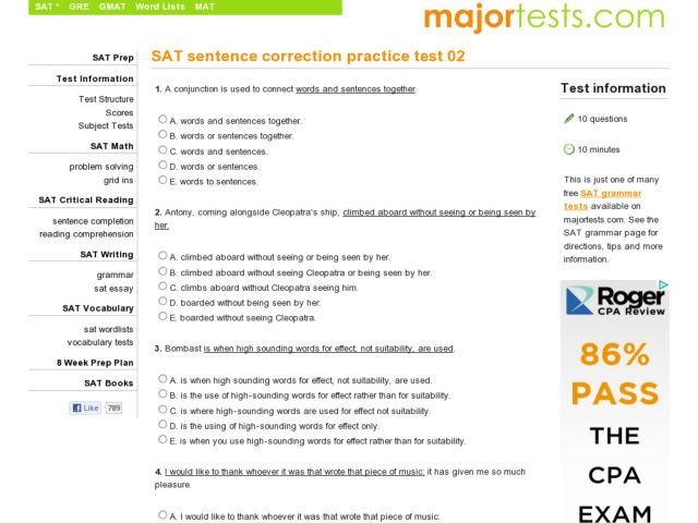 Online proofreading test in nigeria