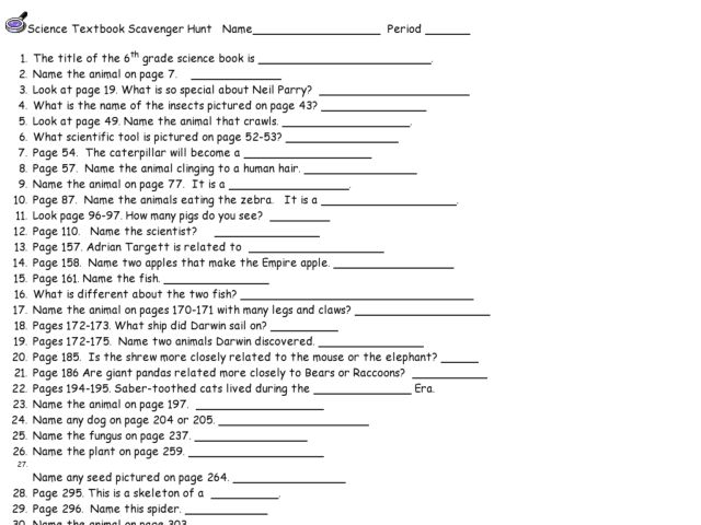 unv 103 scavenger hunt worksheet