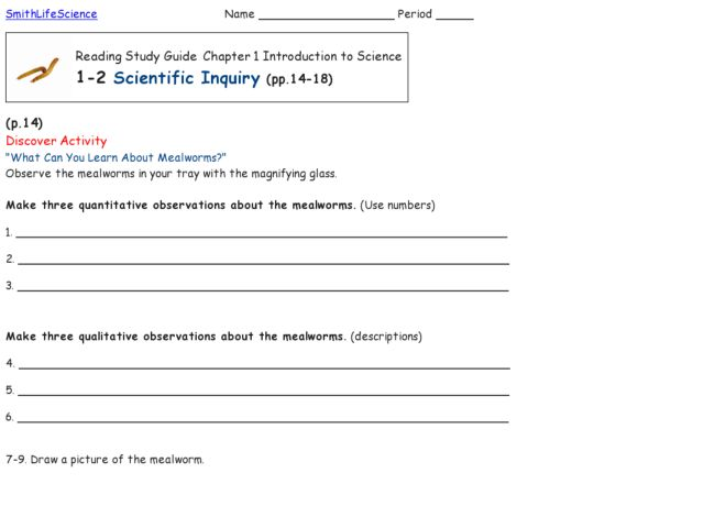 Worksheets Scientific Inquiry Worksheet scientific inquiry 5th 8th grade worksheet lesson planet