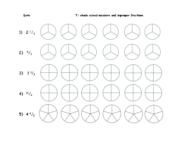 mixed number to improper fraction worksheet laveyla – Improper Fractions to Mixed Numbers Worksheets