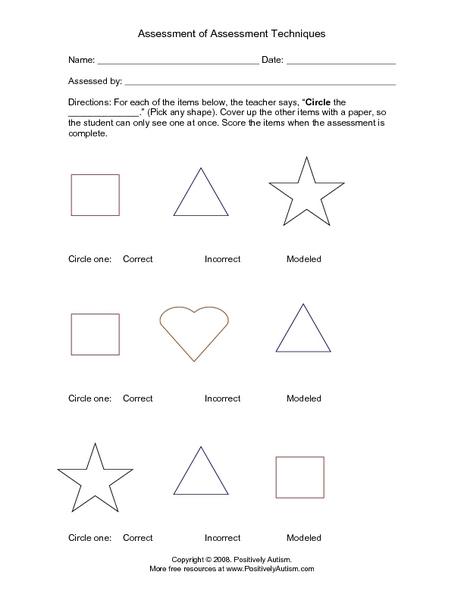 Free Shape Recognition Worksheets - K5 Worksheets