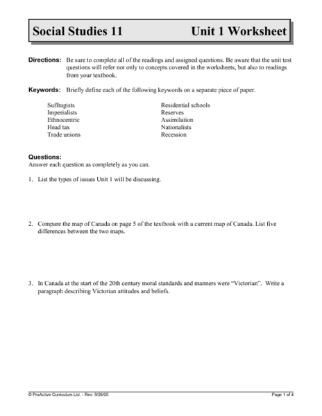 12 Grade Social Studies Worksheets : Social studies worksheets for th grade history reading