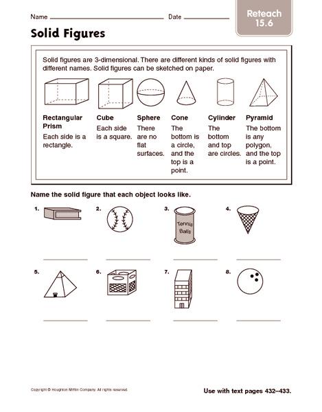 all worksheets solid figures worksheets printable worksheets guide for children and parents. Black Bedroom Furniture Sets. Home Design Ideas