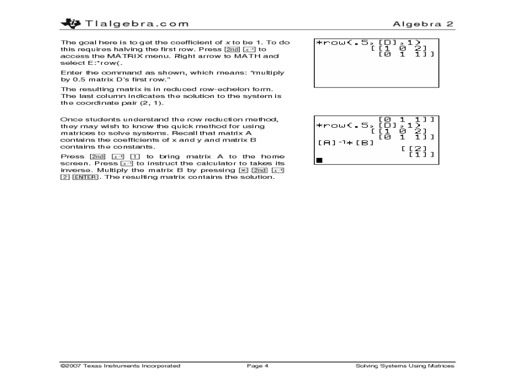 Multiplication scalar multiplication of matrices worksheet : Number and Quantity: High School Common Core Math ...