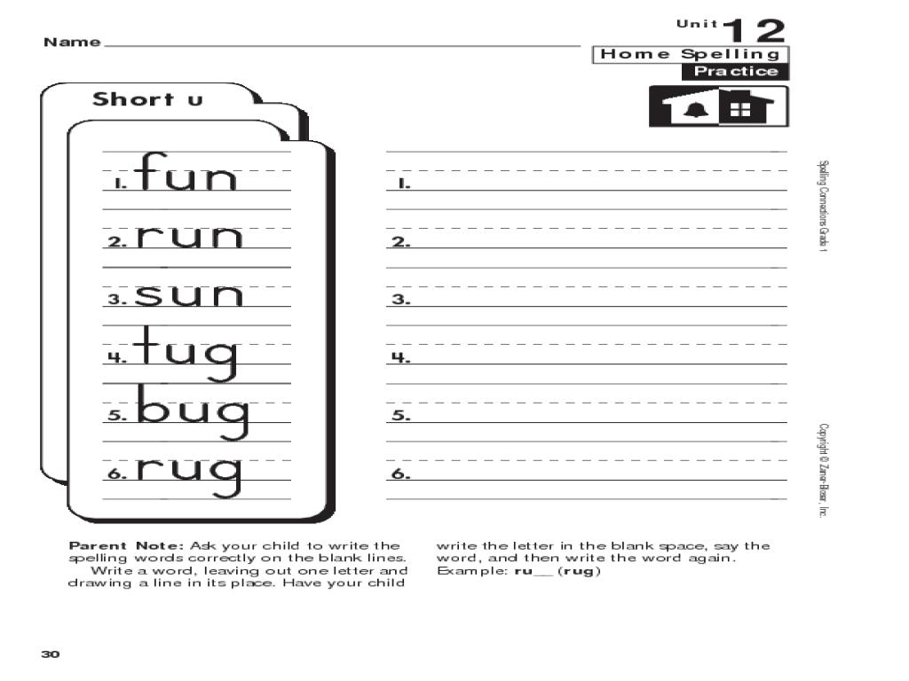 Uncategorized Short U Worksheets worksheet short u worksheets fiercebad and essay site spelling 1st grade lesson planet