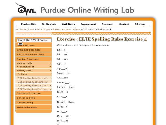 Printables Spelling Rules Worksheets spelling rules worksheets davezan ie ei exercise 4 5th 9th grade worksheet