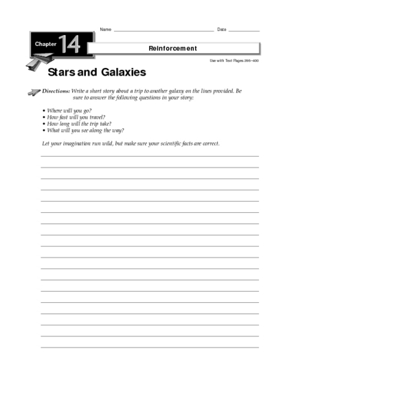 Galaxies Worksheets 8th Grade (page 2) - Pics about space