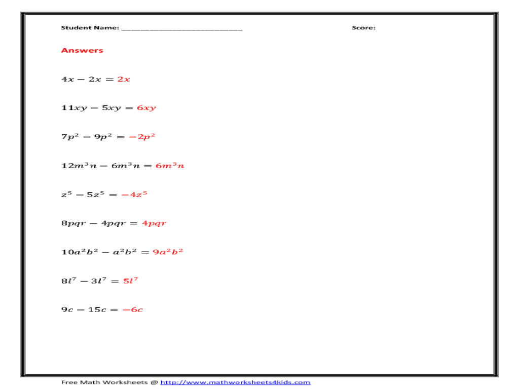 More Properties Of Exponents Worksheet Worksheets for Education – Properties of Exponents Worksheet Answers