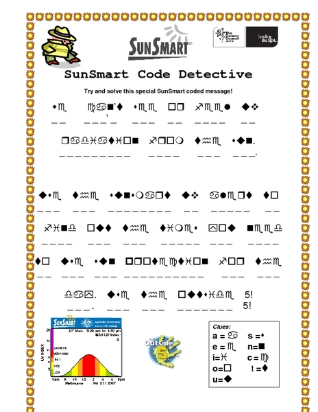 math worksheet : sun safety worksheets kindergarten  worksheets for education : Safety Worksheets For Kindergarten